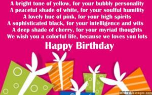 Niece Birthday Wishes - Birthday poems for niece   WishesMessages.com