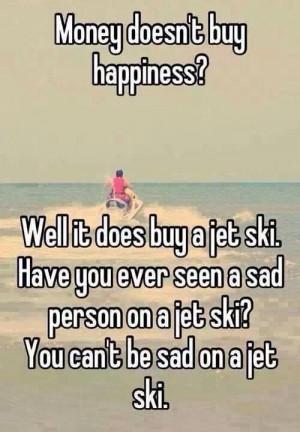 Happiness is a jet ski!