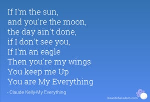 You're My Everything Quotes