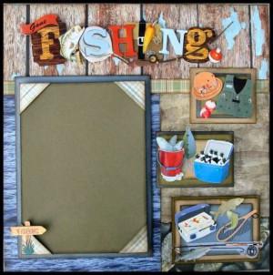Fishing Scrapbook Presentation