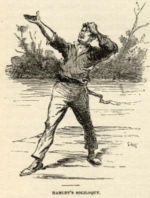 huckleberry finn e.w. kemble illustrations chapter 21