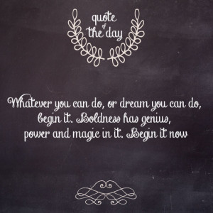 Transform Thursday: Quote of the day!