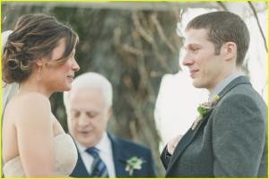 Zach Gilford Tears Up in Wedding Photos with Kiele Sanchez!