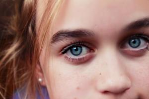 Bushy Eyebrows Girl