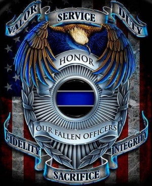Honor our fallen Police Officers