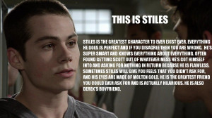 Teen Wolf why did i make this stiles stilinski derek hale Scott McCall ...