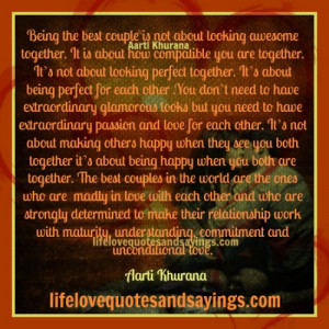The Best Couples Are Bonded With Unconditional Love..