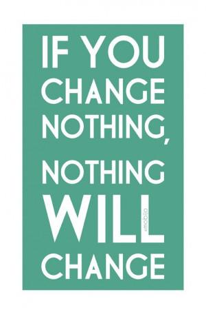 Sometimes, change is good :)