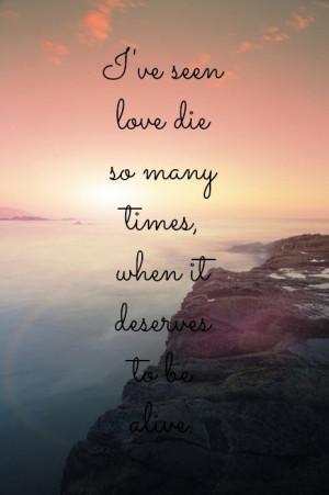 alive, die, love, ocean, quote, quotes, sea, sun