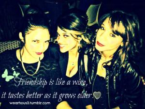 Three Best Girl Friends Quotes Best friends 3