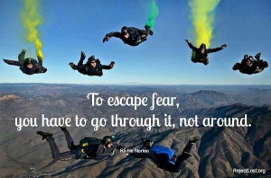 overcoming fear quotes and sayings