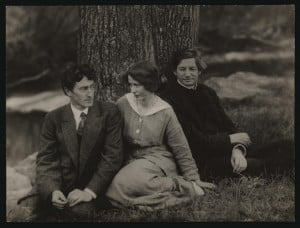 George Sterling, Edna St. Vincent Millay, and Bliss Carman . 1914.