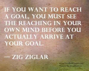 reach a goal