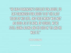 Parkinson 39 s Disease Quotes