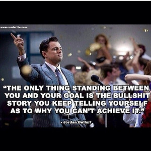 Wolf of Wall Street motivation
