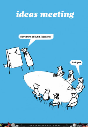 Business Men Brainstorm Some New Ideas