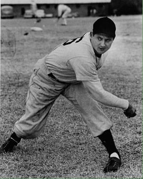 Early Wynn Pitching