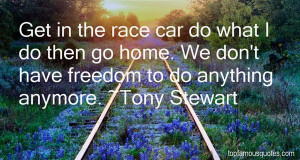 Tony Stewart Quotes Pictures