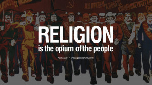 Religion is the opium of the people. Karl Marx Quotes On Communism ...