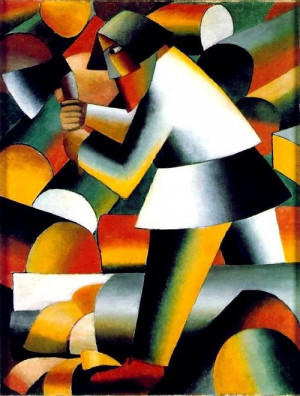Kazimir Malevich, Man with Axe.