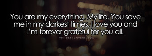 You Are My Everything Demi Lovato Facebook Cover Photo
