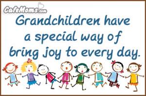 Grandchildren Have A Special Way Facebook Graphic