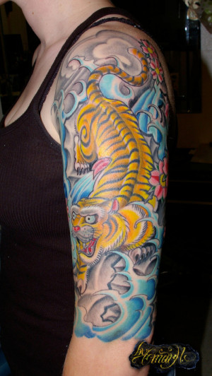 ... Images for Images Japanese Tiger Tattoo Inside Arm Gangster Quotes