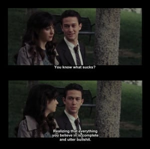 500 days of summer, movie quote, summer, summer finn, tom hansen ...