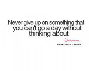 girl, give up, him, love, quotes, thinking, us