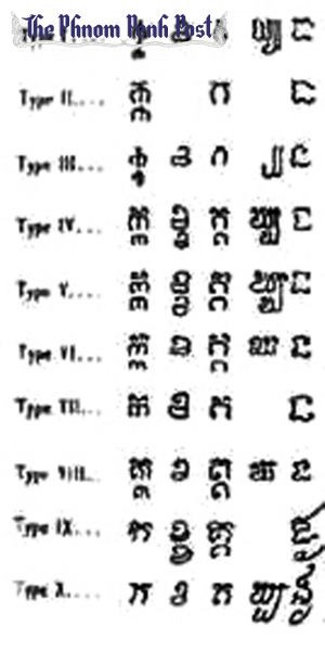 Khmer script tattoos and meanings