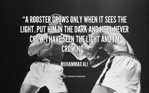 Muhammad Ali Quotes a Man