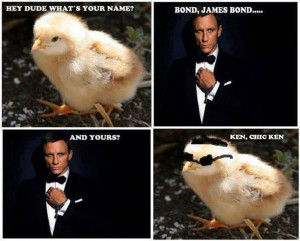 ... Funny memes , Funny Pictures // Tags: Funny james bond meme // July