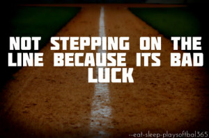 softball catcher sayings