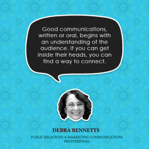 Good communications, written or oral, begins with an understanding of ...