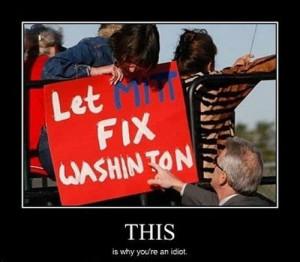 Let Fix Mitt Washinton