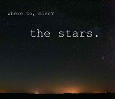 Inspirational Stars Wall Art Quote Print Motivational Art Print Sky ...