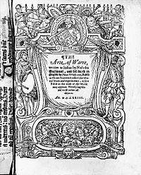 Peter Whitehorne's 1573 translation of the Art of War
