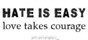 for forums: [url=http://www.piz18.com/hate-is-easy-love-takes-courage ...
