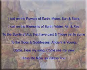 Pagan Blessing Image