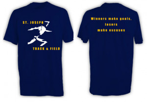 Track and Field T Shirt Quotes