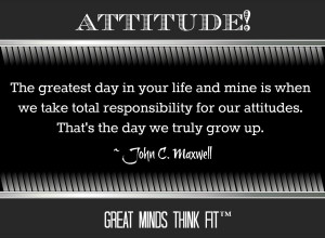 Attitude Quote by John C. Maxwell