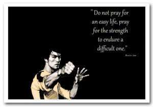 text quotes print motivational quote bruce lee strength prints posters ...