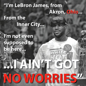 Lebron James Basketball Quotes Lebron james encouraging