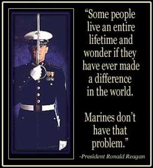 ... verify---something allowing suit white house reagan marines quote