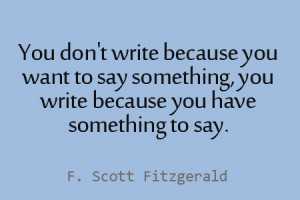 11 F. Scott Fitzgerald Quotes to Inspire Your Blogging and Writing
