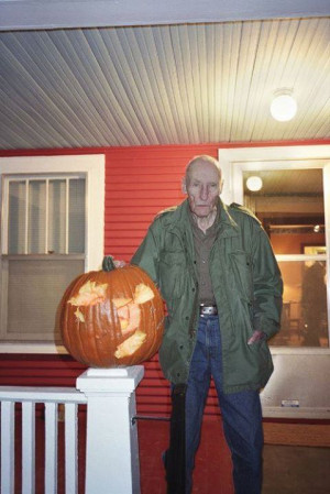 William Burroughs is a Halloween junkie.