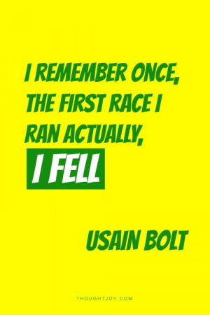 ... quotes #typography #running #falling #crash #olympics #track #bolt