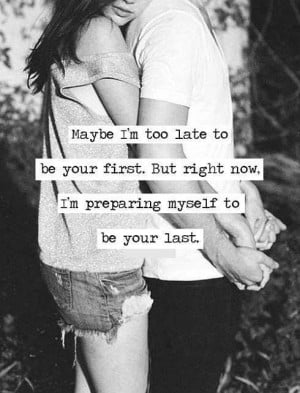 love quotes first last