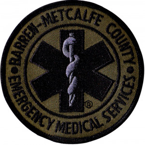 Emergency Medical Service Embroidered Patch