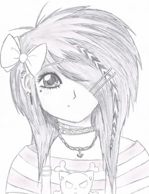 Emo Drawings sad Emo Boy Girl Quotes that Make You Cry Pictures Girl ...